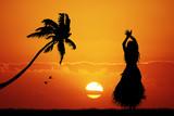 Fototapety Hawaiian dance