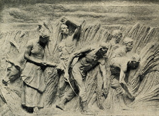"Agriculture (Detail of Meunier's ""Monument to Labour"")"