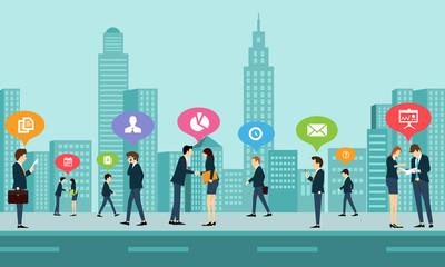 social work business communication