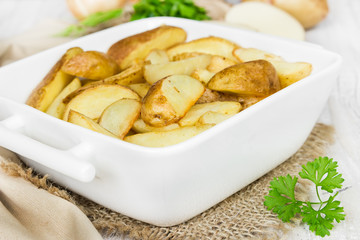 Stewed potatoes