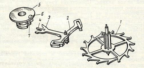 Escapement in mechanical watch