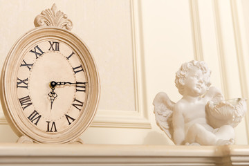 Old mantel clock