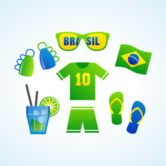 brasil soccer world cup 2014 kit