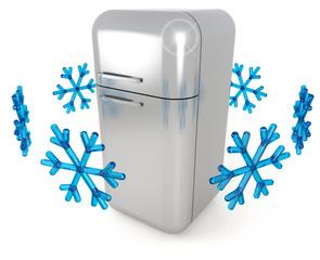steel refrigerator