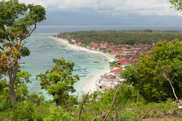 Village in nusa lembongan