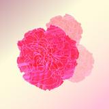 watercolor flower vector ,Eps 10