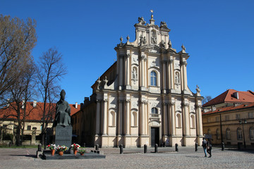 Church of St. Joseph of the Visitationists, Warsaw