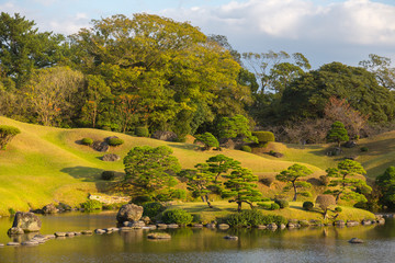Suizenji Park, Japanese garden