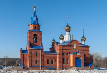Sacred Church of St. George. Zavodoukovsk. Russia