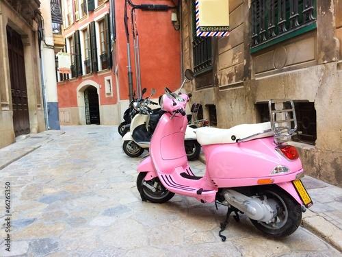 Little street in Palma de Mallorca - 66265350