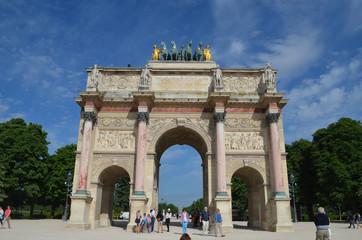 Arc de Triomphe du Carroussel, Louvre, Paris