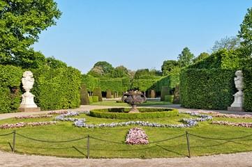 Schonbrunn Gardens in Vienna