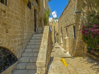 Street in the ancient part of Jaffa