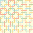 Five-color seamless pattern. Abstract background for your design