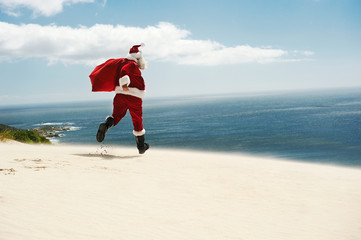 Santa finally gets his Vacation!