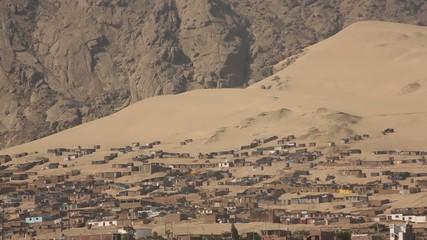Siedlung in Wüste