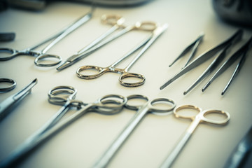 Different surgical tools