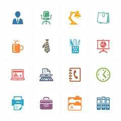 Office Icons - Colored Series