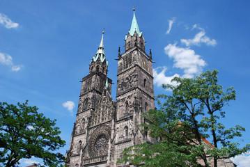 St. Lorenz Sankt Lorenzkirche Nürnberg Kirche Bayern Evangelisch