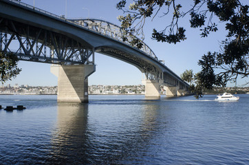 Auckland Harbour Bridge - New Zealand