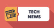 Tech News on Scarlet in Flat Design. - 66274586