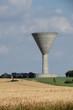 Château d'eau et champ de blé - 66274594
