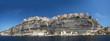 Leinwandbild Motiv Ville de Bonifacio Corse du Sud