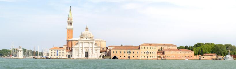 View of  San Giorgio Maggiore church in Venice