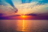 sunrise in the sea - Fine Art prints