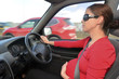 Pregnancy - pregnant woman drive a car