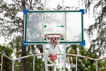 basket for basketball