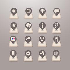 Social media icons vector - Grace_Series