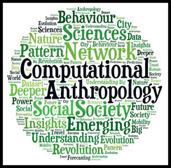 Computational Antropology Word Cloud