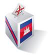 Wahlbox Kambodscha