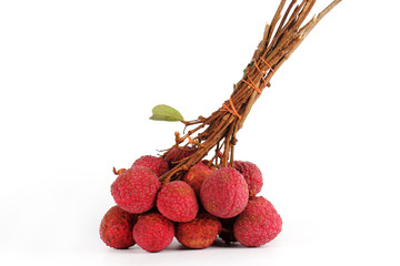 Fresh lychees fruit