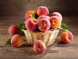 Fototapety fresh peaches
