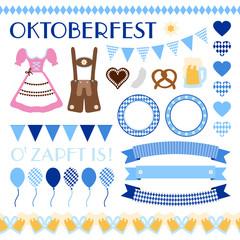 Octoberfest Symbols Set
