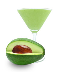 cocktail with avocado
