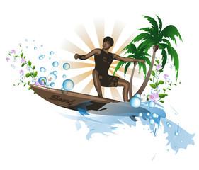 Surf background