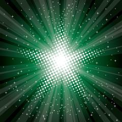 green magic stars