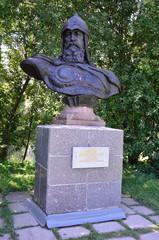 , Горицкий монастырь, памятник Юрию Долгорукому