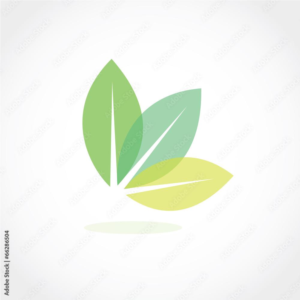 zielony cień ikona - powiększenie