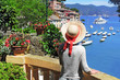 canvas print picture - Urlaub in Portofino