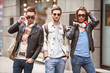 Three Young men fashion