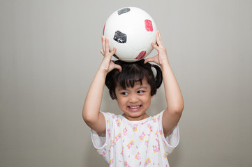 children and football
