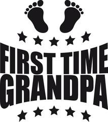 Zum ersten mal Opa First Time GPA Baby
