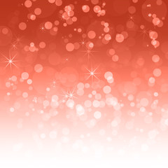 Abstract red background with a bokeh for design