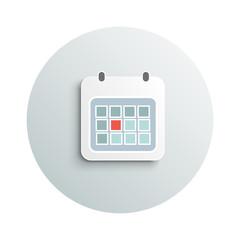 Modern calendar business concept