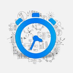 Drawing business formulas: watch