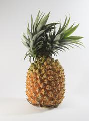 a single double head pineapple